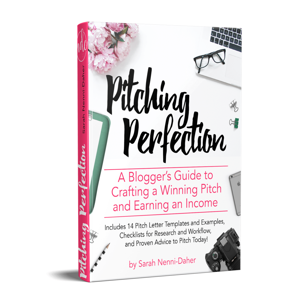 Bloggers can work with sponsored posts and brands directly to earn more money using Pitching Perfection.