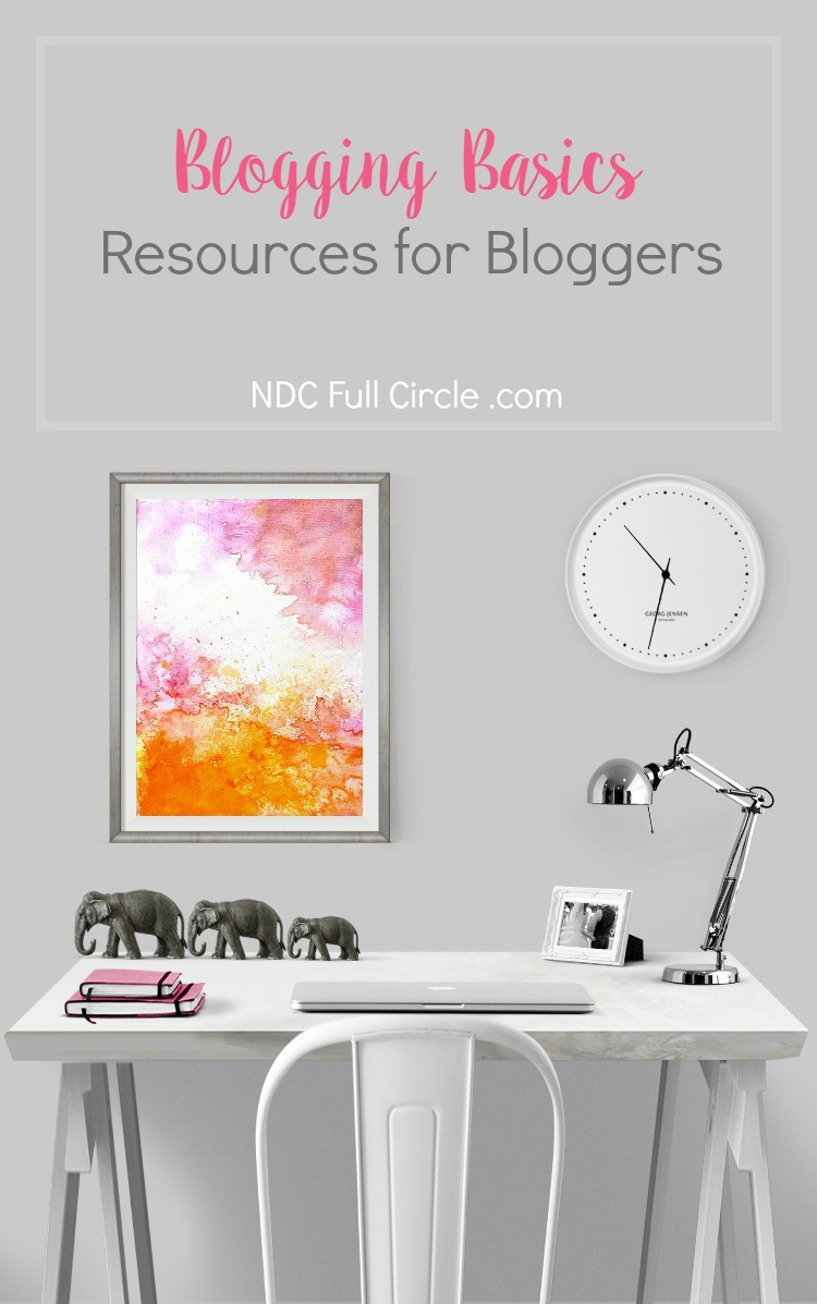 Learn how to blog and the basics of blogging
