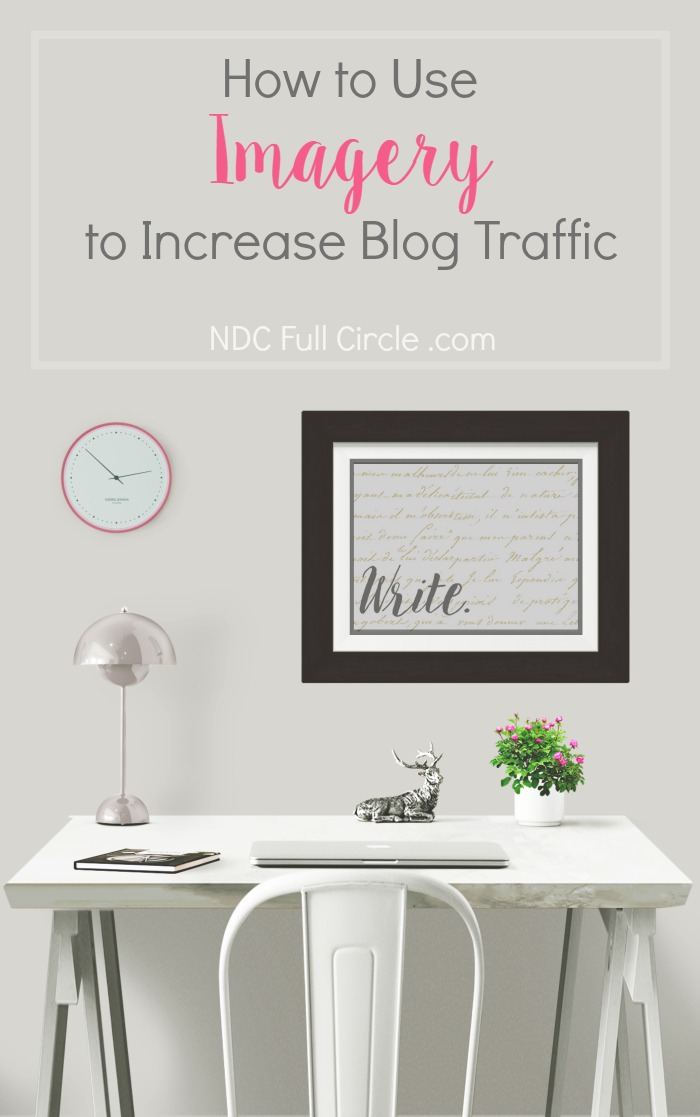 Use imagery in blogging to increase engagement, shares, and traffic. This brief writing exercise combines practice with expertise to give you a winning combination.