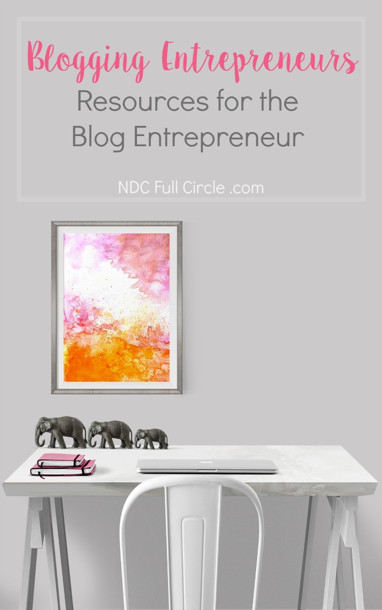 Are you a blogger turned entrepreneur? This is the resource page for you to grow your business and maintain sanity!