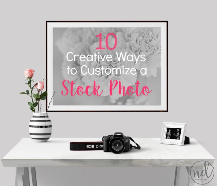These 10 ways to customize a stock photo show you how easy and productive blog images can be!