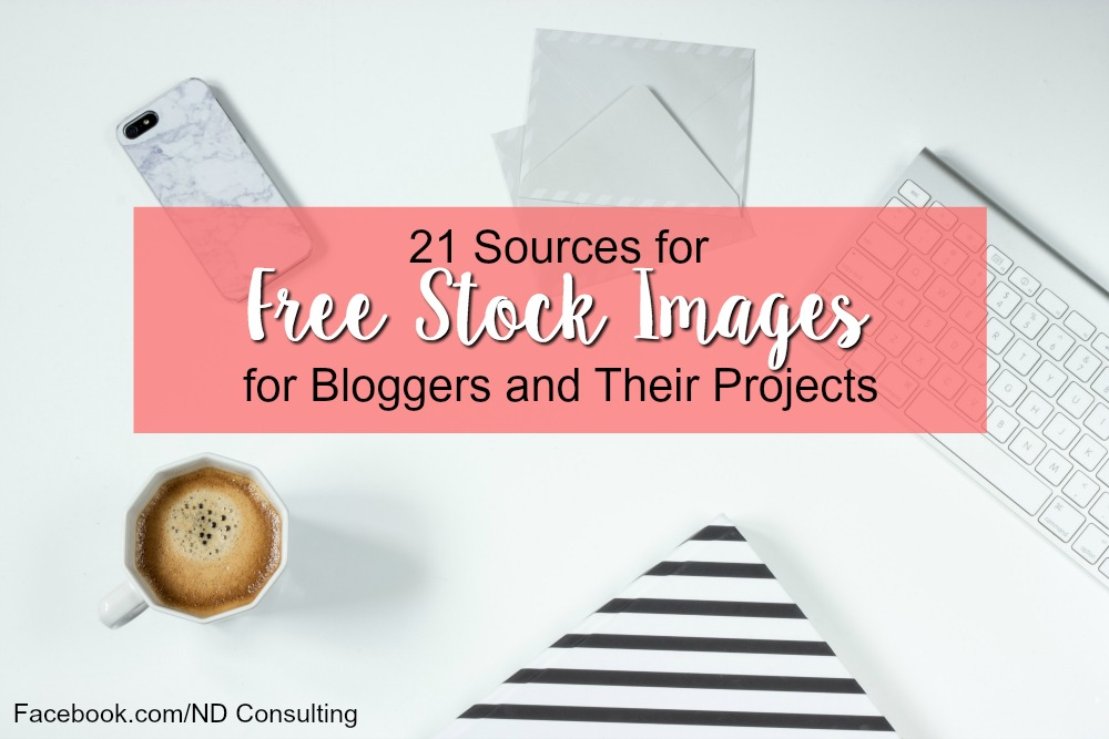 Stock photography and stock images for blog posts and projects