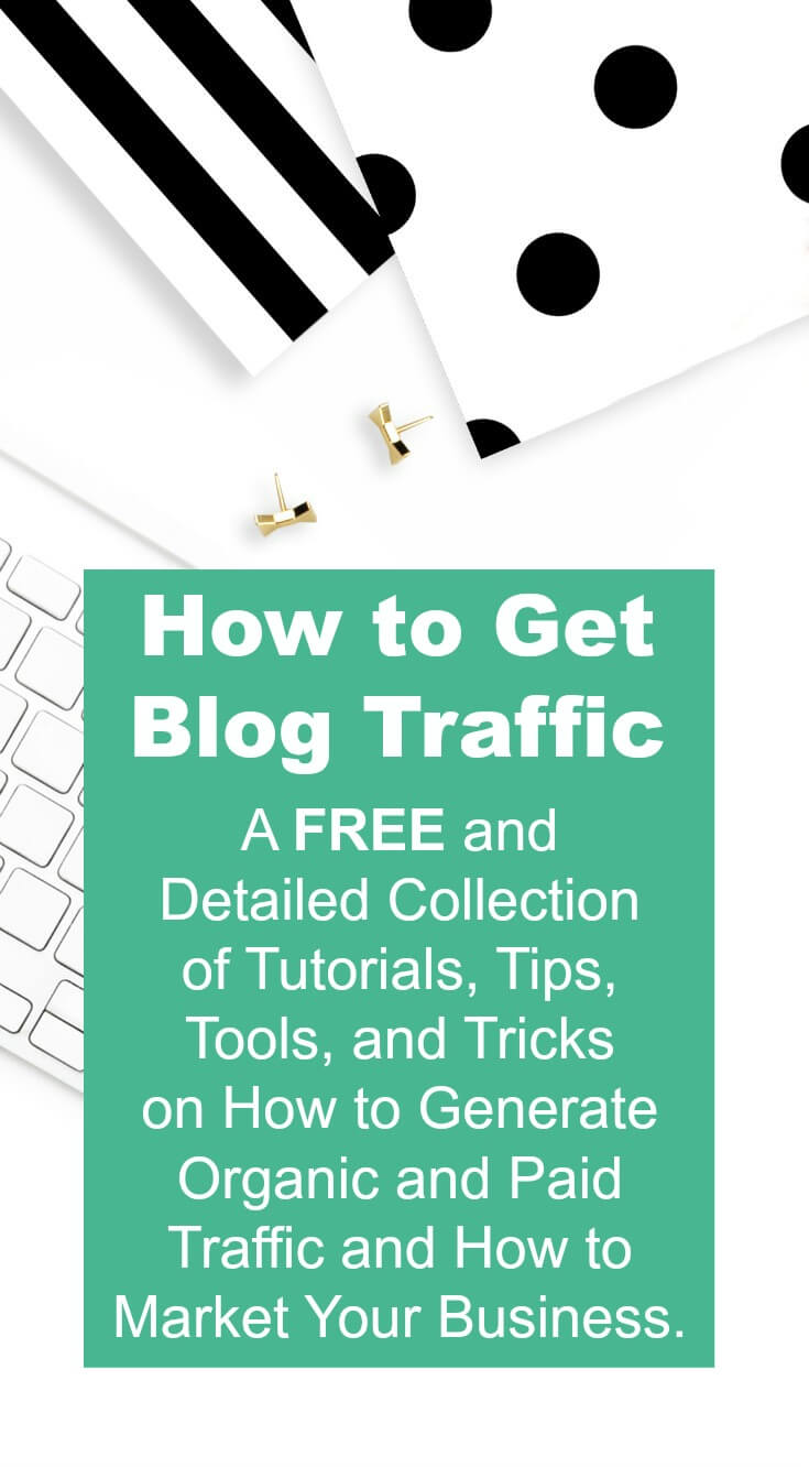 New and established bloggers will benefit from the traffic and marketing repository, featuring tutorials, tips, tools, and even tricks on how to generate organic blog traffic.