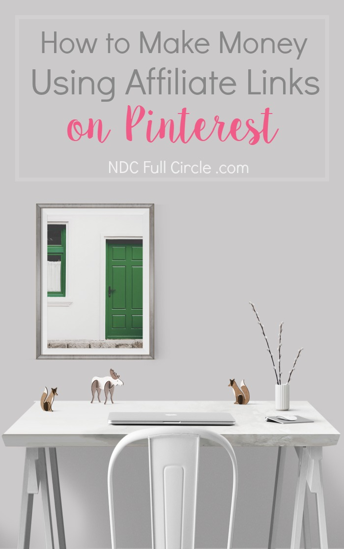 Learn how to use affiliate links on Pinterest to increase your blog and passive income!