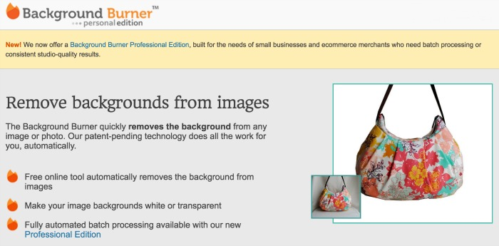 Use free tools to remove the background from images!