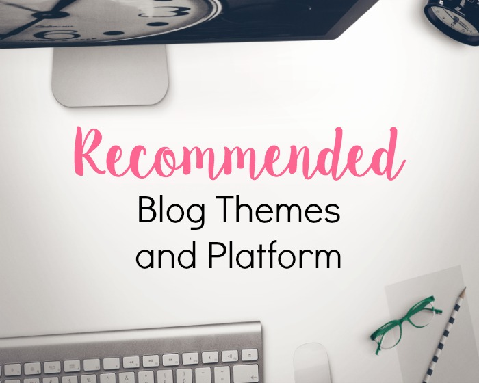 Recommended blog themes and platform for WordPress.org