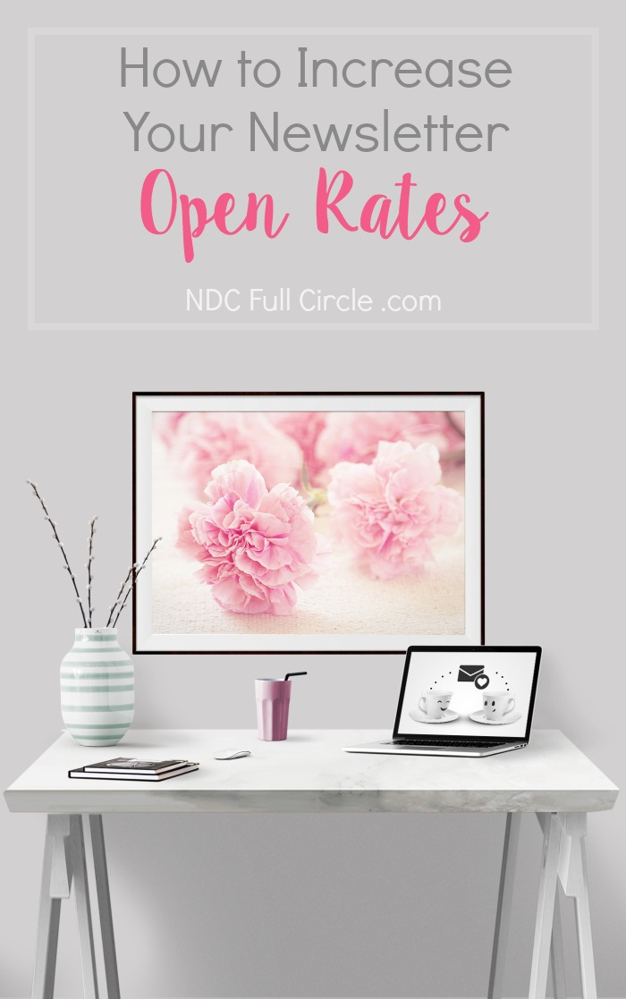 Learn how to increase open rates for your blog's email newsletter.