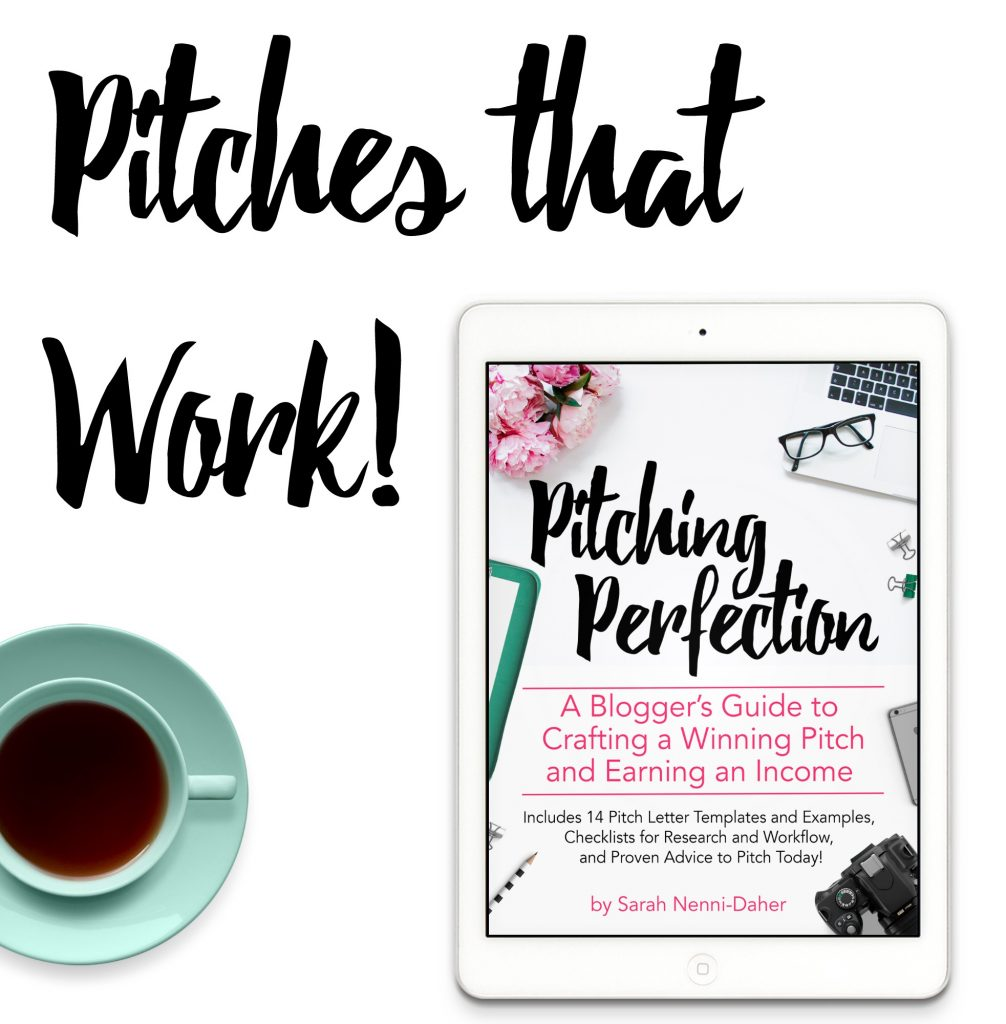 Learn how to pitch brands and earn money with your blog!