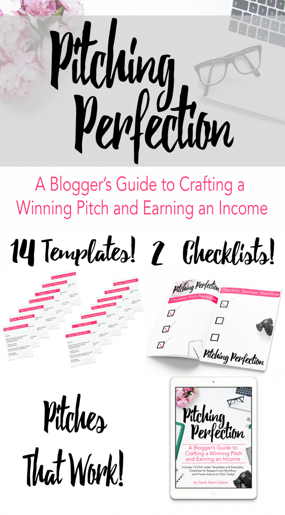 Bloggers and Influencers: Use these pitch letter templates, checklists, tracking, and reporting tips to earn an income from sponsored content!