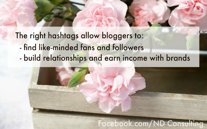 Learn how to find hashtags to grow engagement and blog income