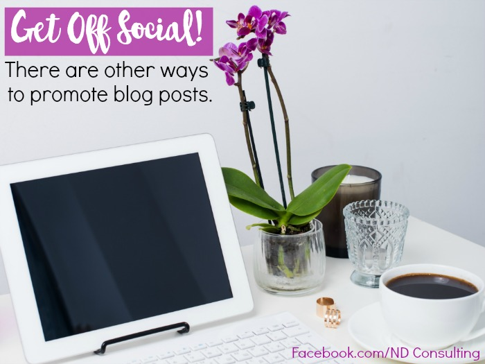 In addition to social media, use one of these creative ways to promote blog posts to increase traffic.