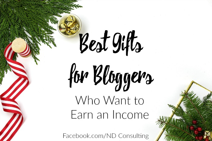 Get the guide for the best gifts for bloggers who want to earn an income from their blog!