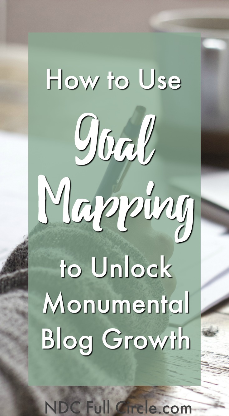 Learn how goal mapping can help you accomplish your biggest blogging goals in 90 days!