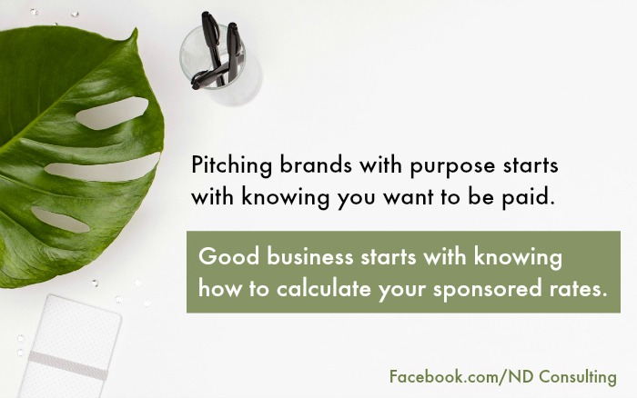 Learn how to calculate sponsored post rates and increase your blog income!