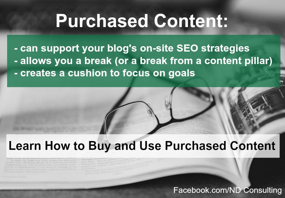 Can purchased content support your blog's growth goals? Yes - learn how with these 10 tips!