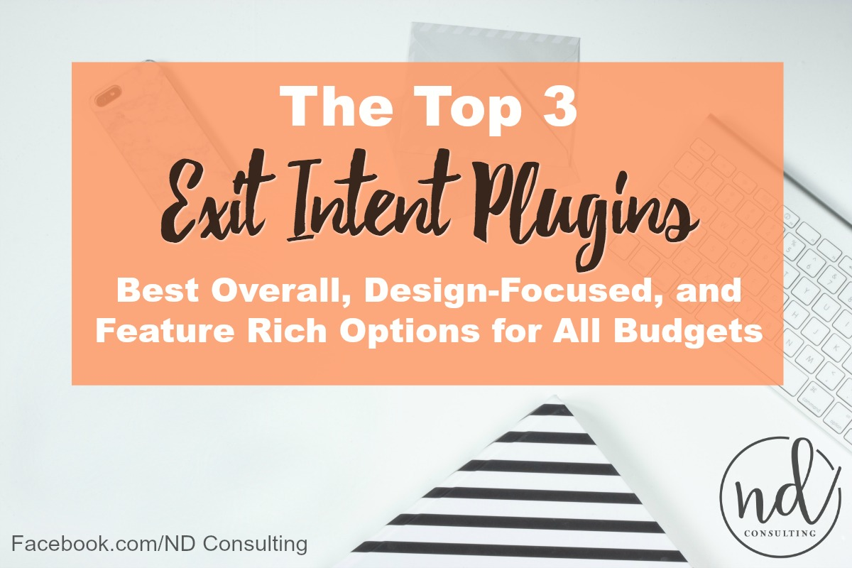 Use one of the best exit intent popup plugins to avoid penalties while growing email subscribers