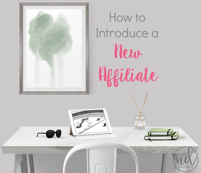 How to Introduce a New Affiliate to Your Audience