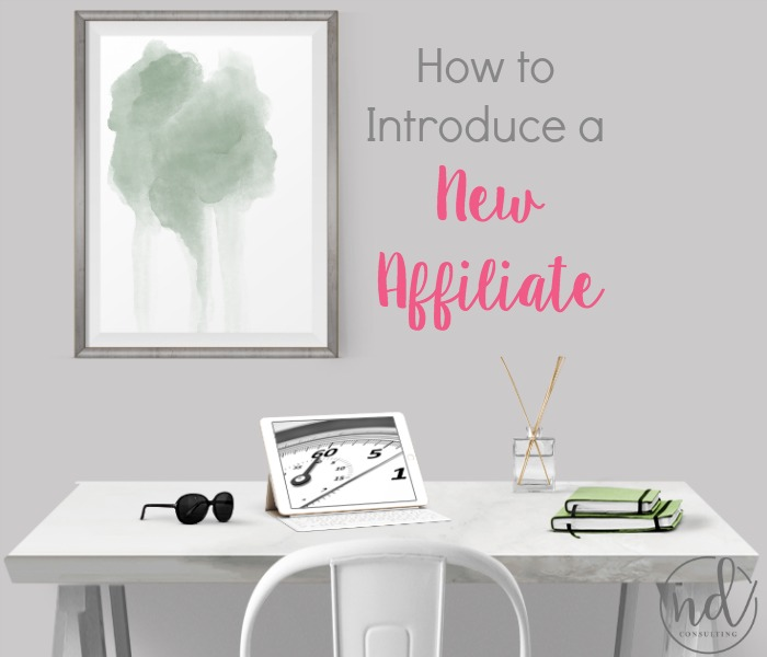 Be confident and earn more when you learn how to introduce a new affiliate to your blog audience.