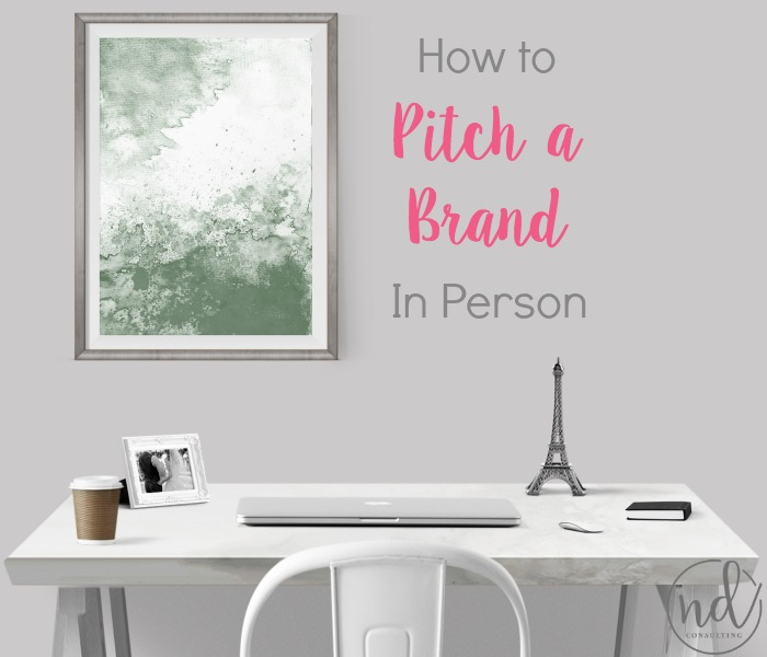 Earn more when you learn how to pitch a brand in person at a blog conference.