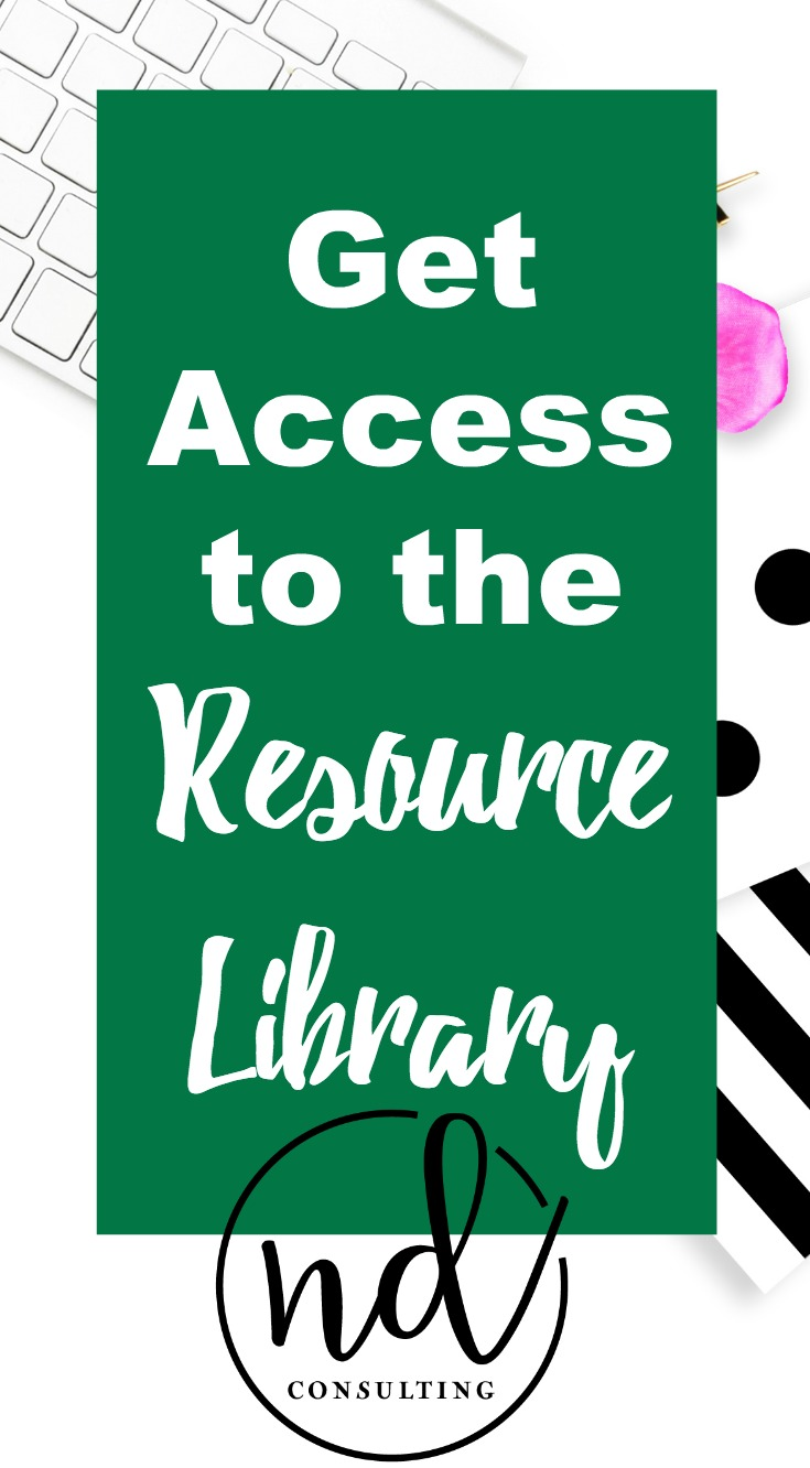 Get Access to the Resource Library and Turn Your Blog Into a Business