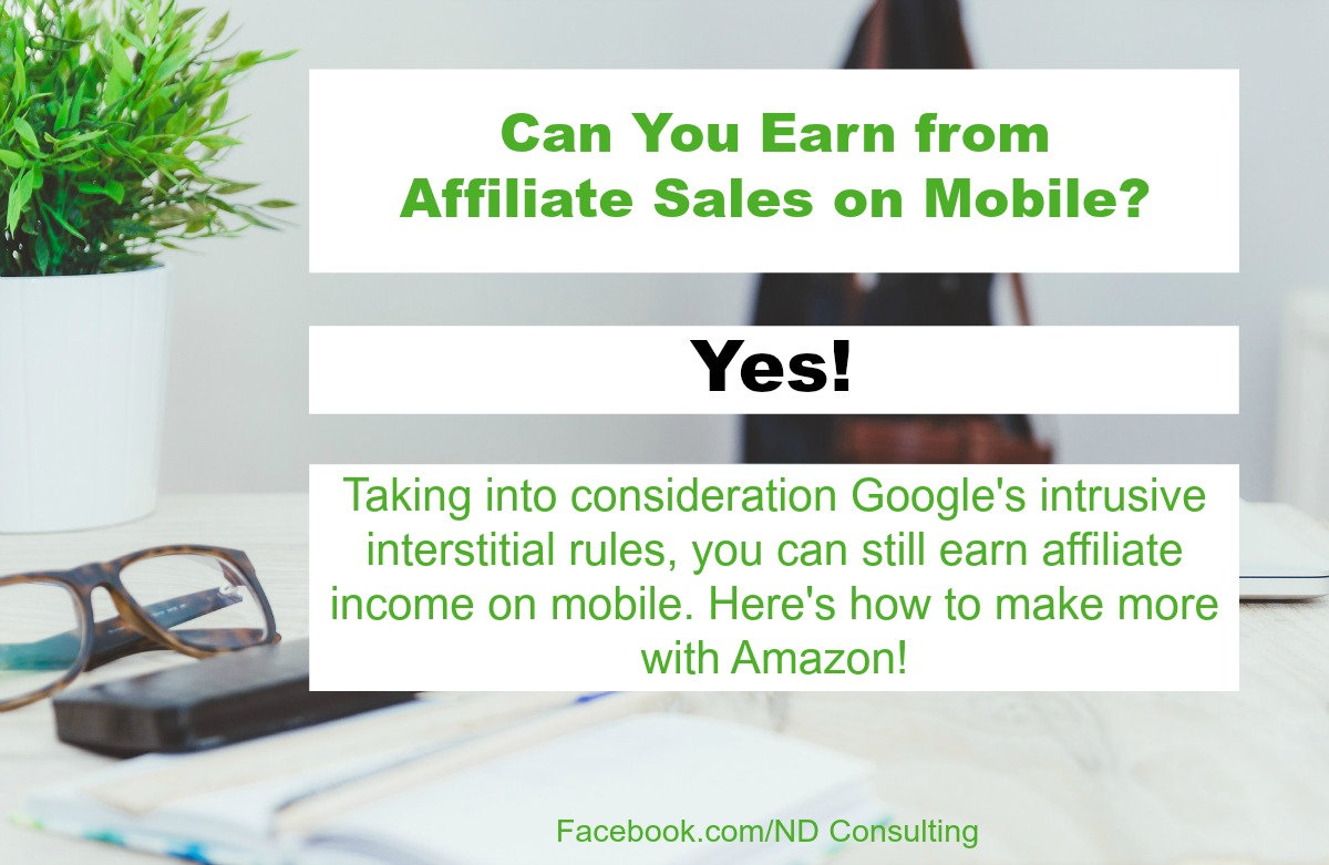 Increase Affiliate Sales Using the Amazon Mobile Popover Overlay
