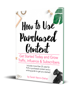 How to Grow a Blog Using Purchased Content_Resources for Bloggers