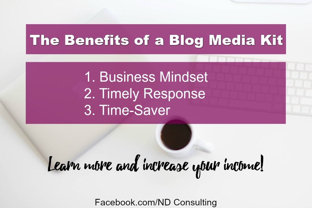 Learn how to create a blog media kit to increase your blog income.