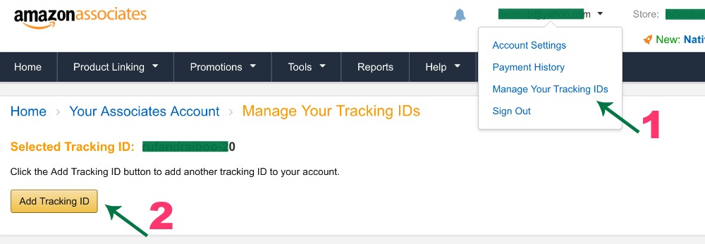 How to Set Up Tracking IDs for Amazon Associates Channels