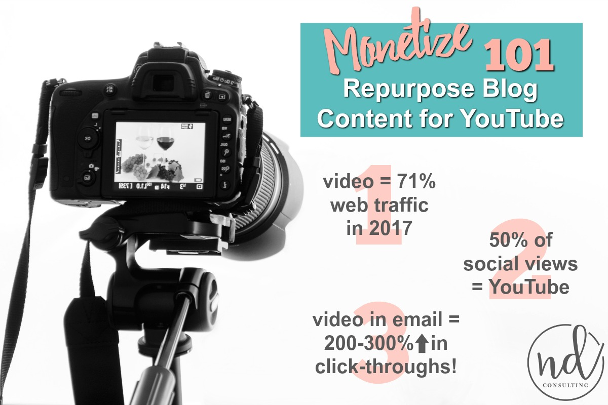 Video statistics for 2017 and why bloggers should repurpose blog content to video