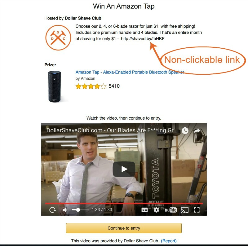 The benefits and drawbacks to a blog using amazon Giveaways