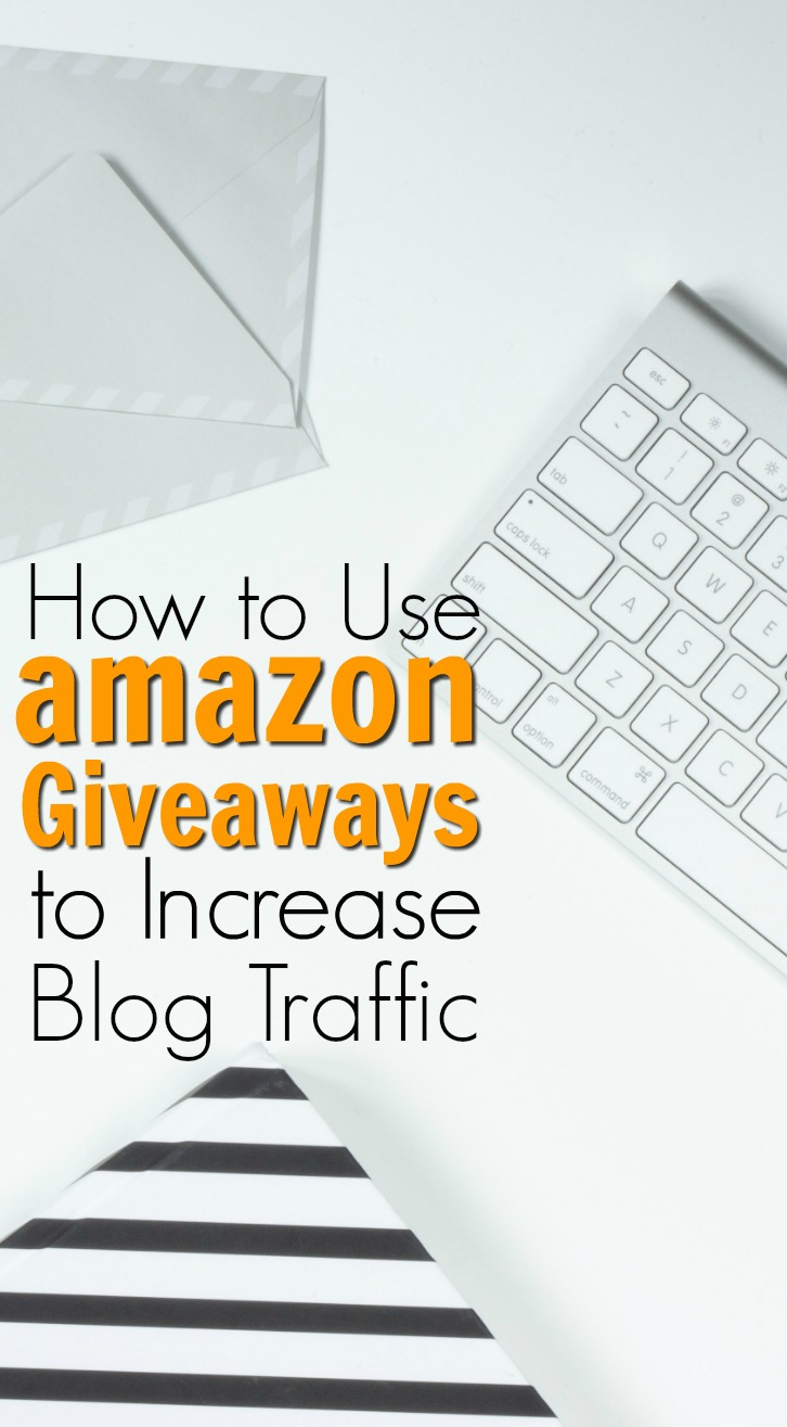 Use amazon Giveaways to increase blog traffic, subscribers, and convert social media calls to action. Here's how...