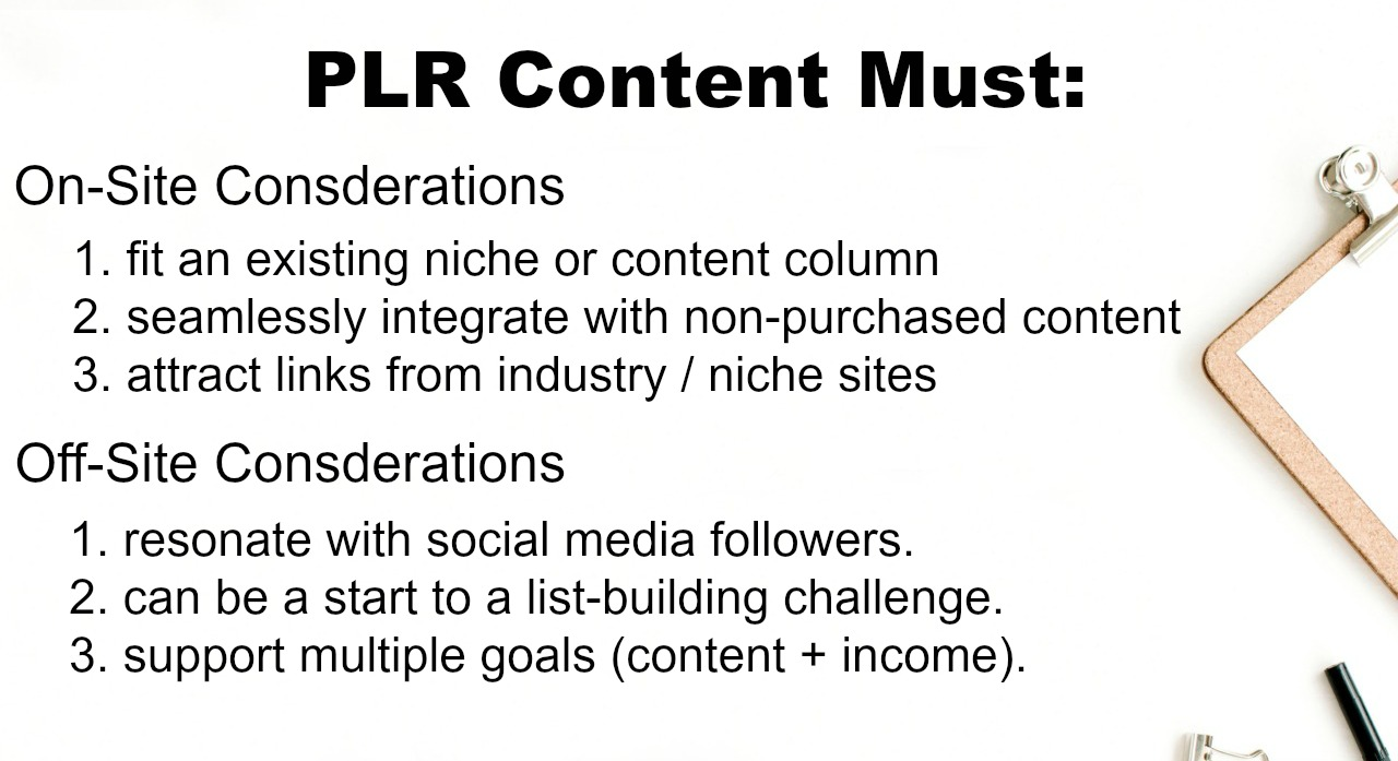 Bloggers should learn how to use PLR content to save time, grow subscribers, and engage social media followers.