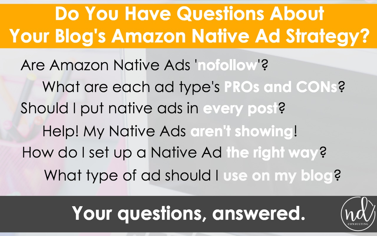 Earn more affiliate income with an Amazon Native Ads Strategy - here's how to set one up