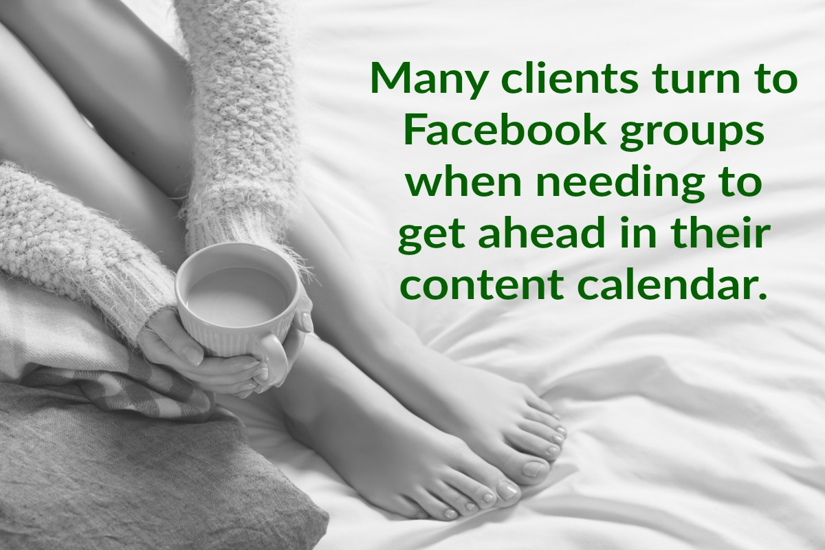 Many bloggers turn to buy content from Facebook groups to get ahead in their content planning. Here are some of the best.