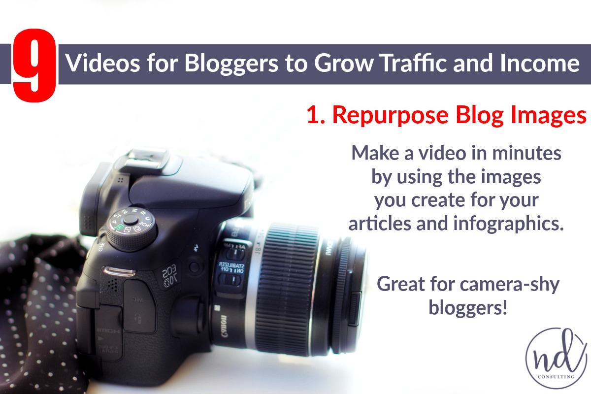 Take advantage of the many types of videos bloggers can make to grow their audience and income.