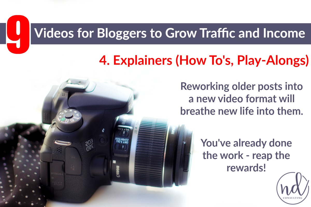 Bloggers can use video to earn more from affiliate marketing!