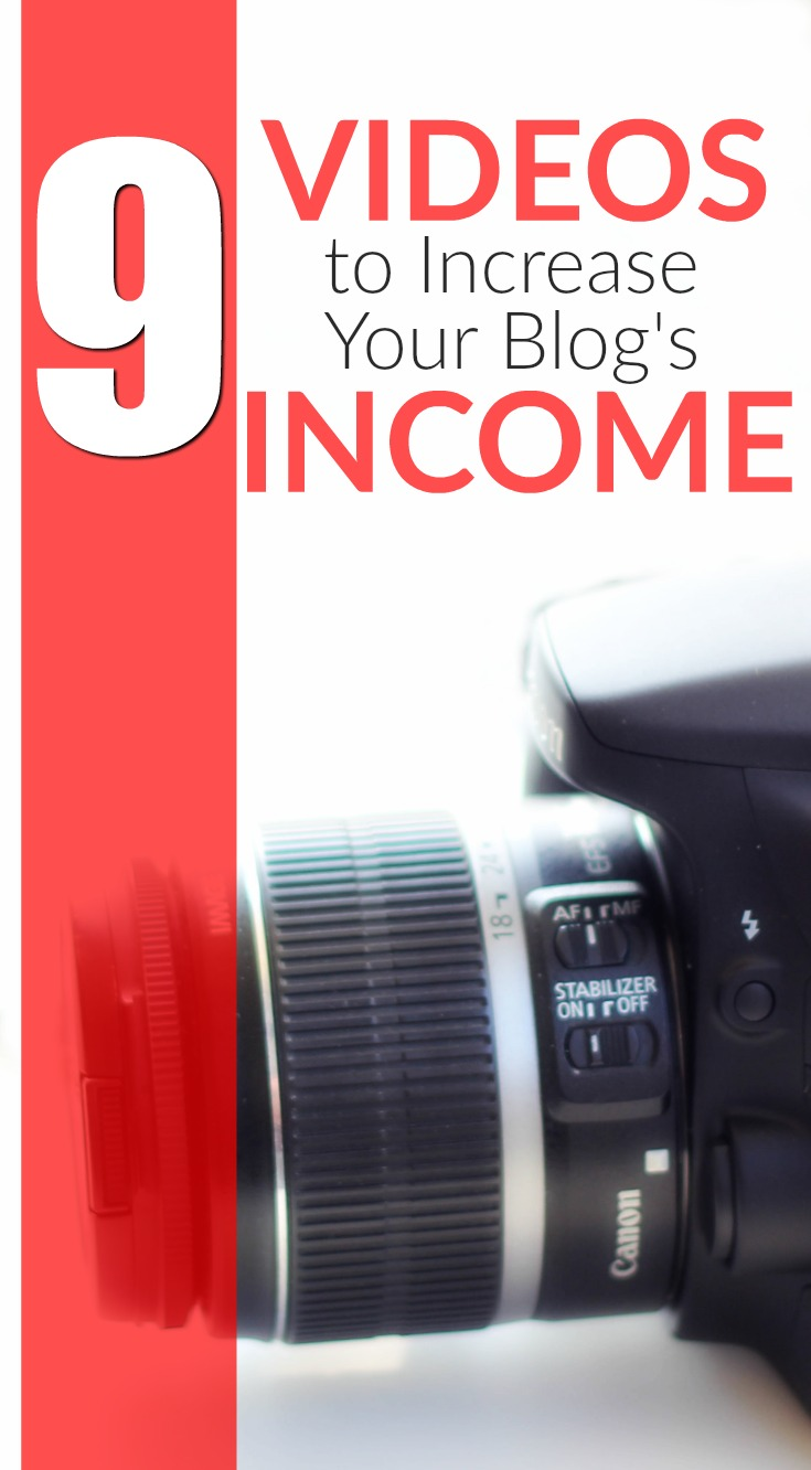 These 9 types of videos for bloggers to increase traffic and income can be made with any device, on any budget. Grow traffic and income with video!