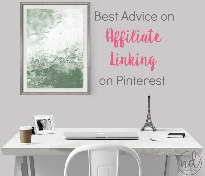 Affiliate marketing on Pinterest is more about strategy than the quantity of links.