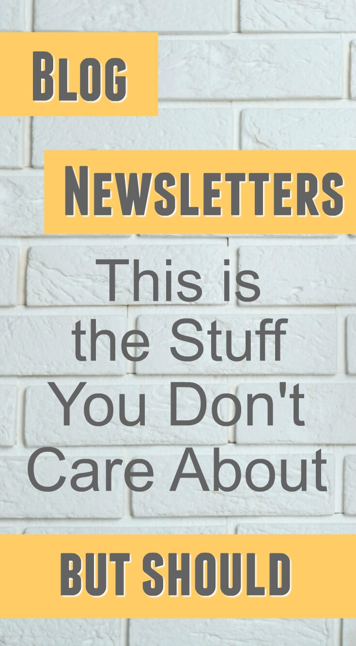 Blog Newsletter Questions Answered: The Stuff You Don't Care About But Should