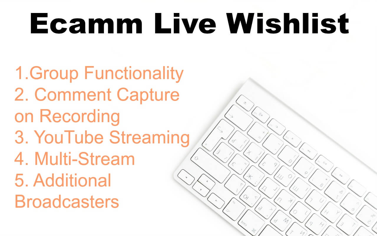 Bloggers can learn how to use Ecamm Live to grow and earn