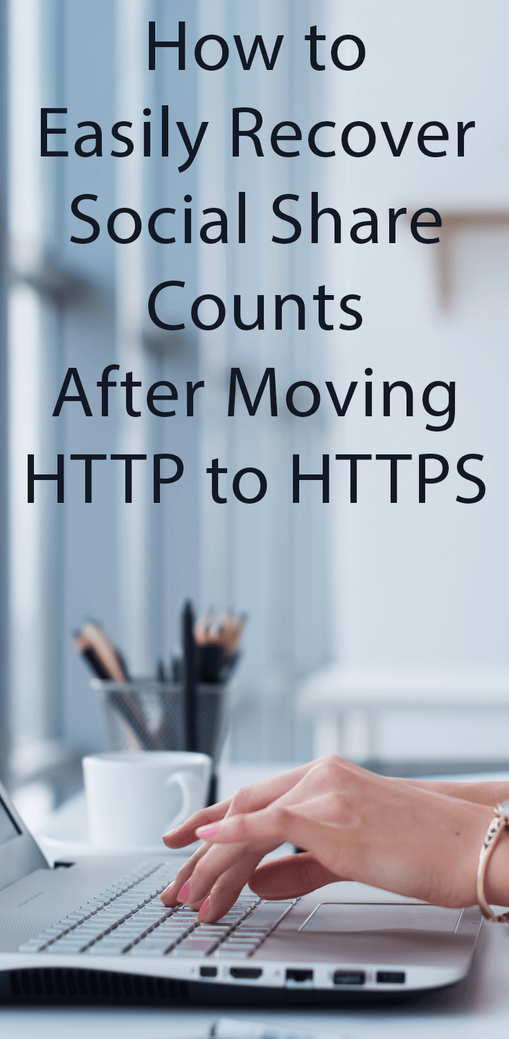 Learn how to quickly and painlessly recover social share counts after moving to HTTPS. It can be done and no redirects are required!