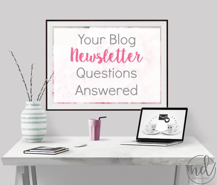 Get the most common blog newsletter questions answered!