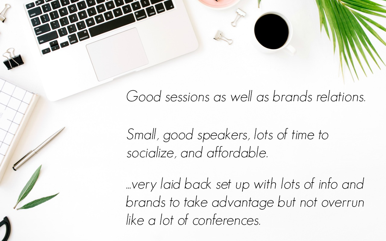 Quotes from bloggers about the best blog conferences by niche