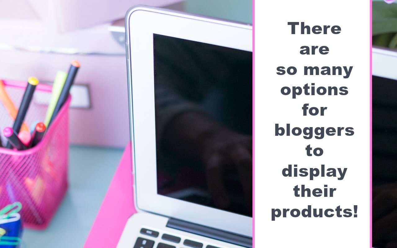 Bloggers can increase their products sales of books, t-shirts, and more using mockups.