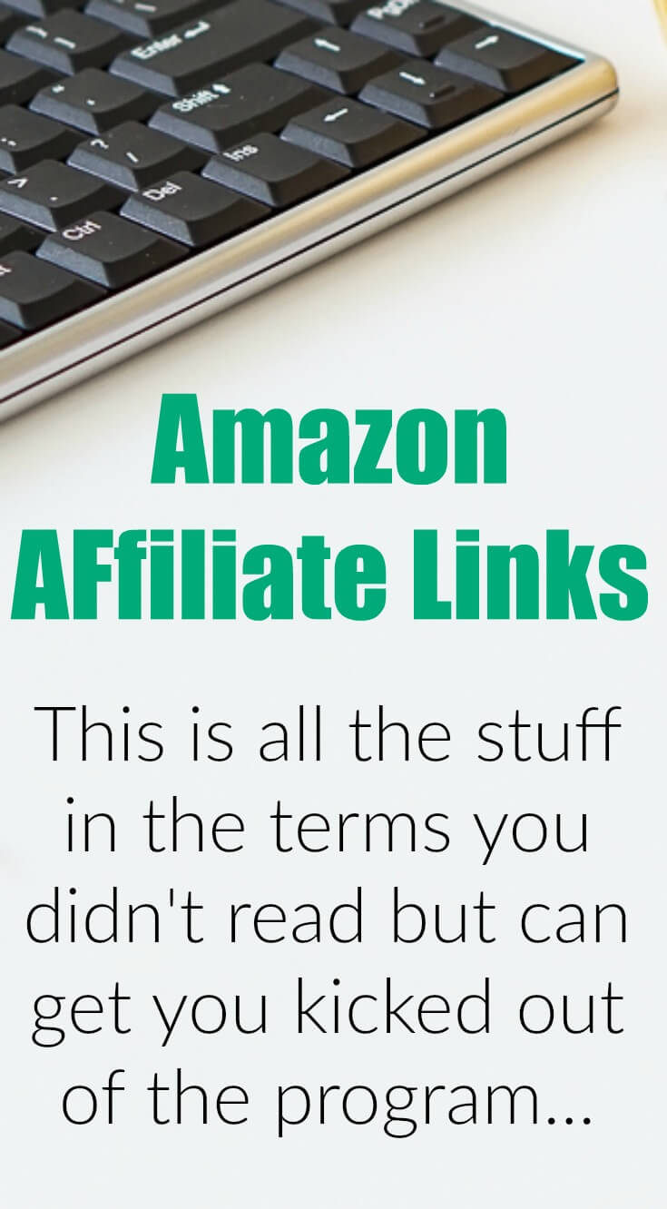 This is the list of stuff that you NEED to know when using Amazon Affiliate Links on Pinterest and Social Media!