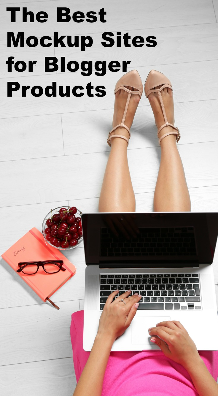 The best free mockup sites for blogger products - get the epic list of sites!