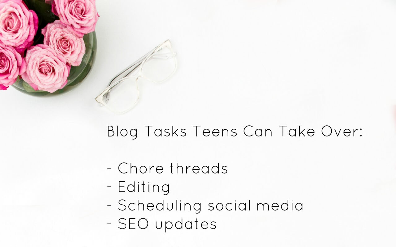 Summer Blogging Tasks for Teenagers