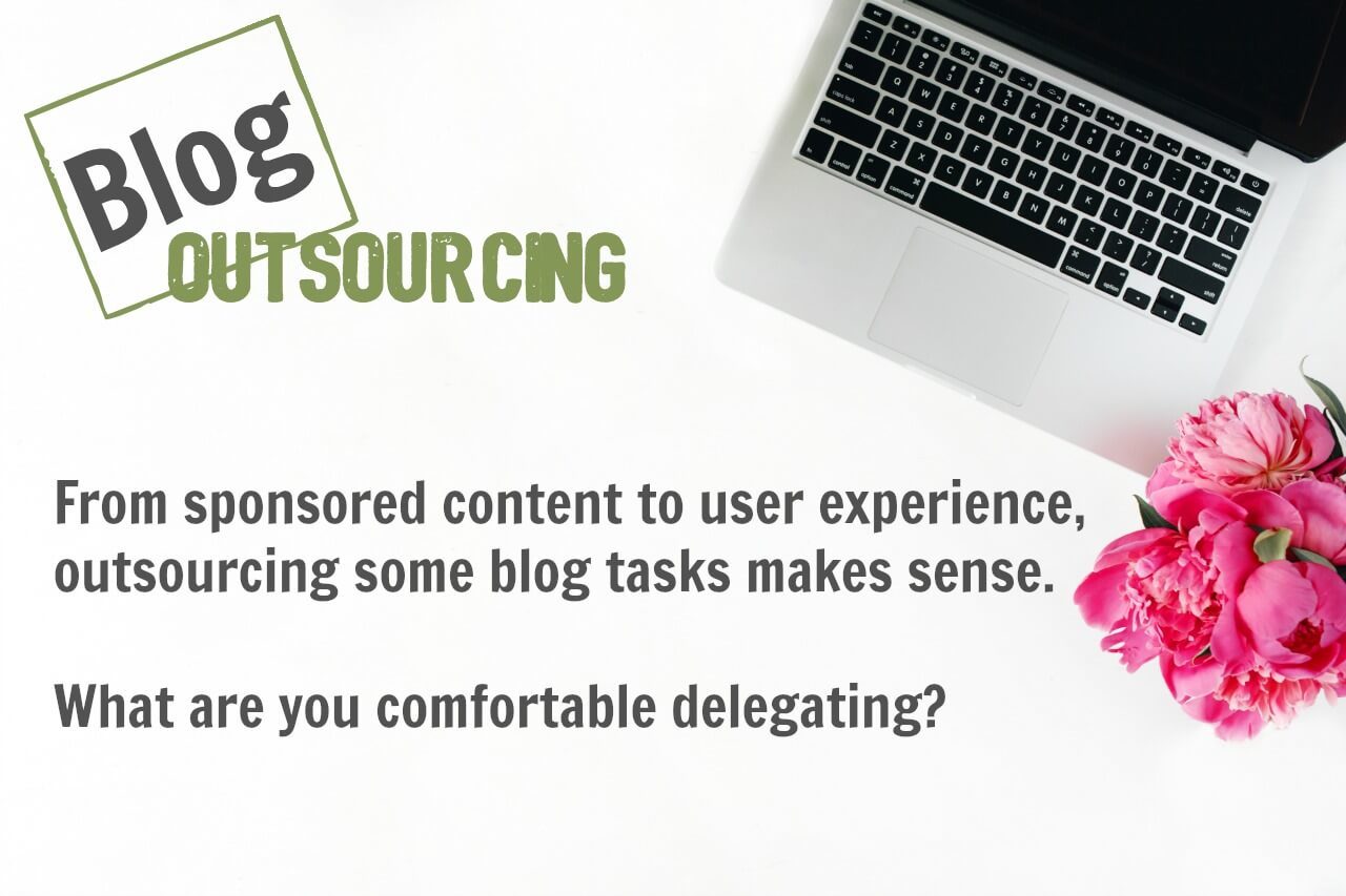 When a blogger learns how to delegate blog tasks to virtual assistants or freelancers, her focus narrows and growth is exponential.