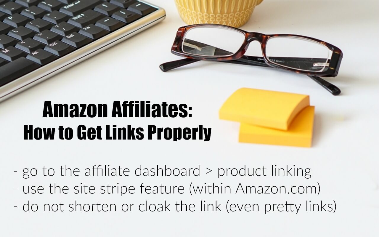 How to Get Amazon affiliate links for use in blog posts and social media