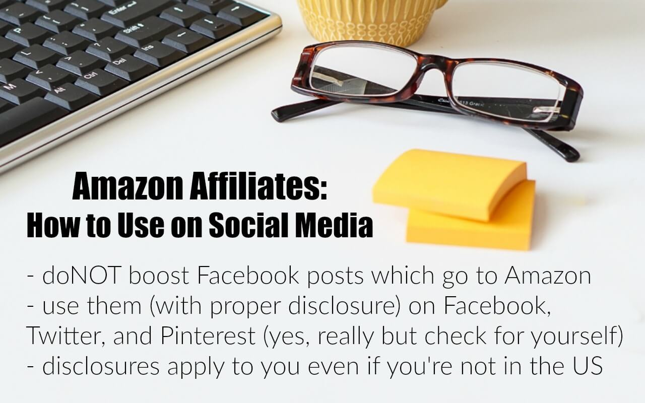 How to Use Amazon Affiliate Links on Social Media